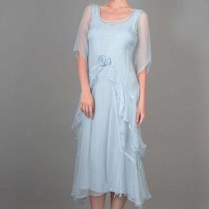 Natya 1920s Victorian Dress Large